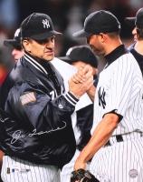 Joe Torre Signed Yankees 16x20 Photo with Mariano Rivera (JSA COA)
