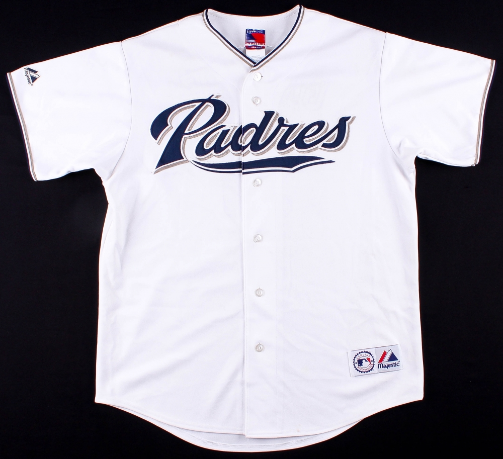 0415456ca ... denmark 2006 padres team signed khalil greene padres jersey with 11  b8441 3aab6