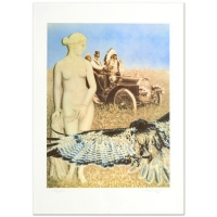 "Robert Anderson Signed ""Hopelessly Watching"" Limited Edition 20x28 Lithograph at PristineAuction.com"