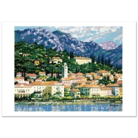 """Howard Behrens Signed """"Bellagio Hillside"""" Limited Edition 30x23 Serigraph at PristineAuction.com"""