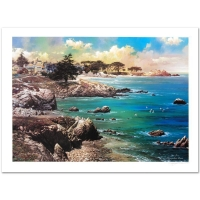 """Alexander Chen Signed """"Along the Coast"""" Limited Edition 17x23 Lithograph"""