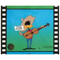 """Chuck Jones Signed """"Sound Please"""" Limited Edition 10x12 Animation Cel"""