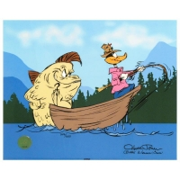 "Chuck Jones ""Fish Tale"" Signed Limited Edition 12x10 Animation Cel"