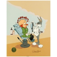 "Chuck Jones ""Rabbit of Seville III"" Signed Sold Out Limited Edition 13x16 Animation Cel at PristineAuction.com"