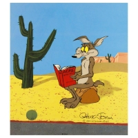 "Chuck Jones Signed ""Acme Catalogue"" Sold Out Limited Edition 10x12 Animation Cel with Hand Painted Color at PristineAuction.com"