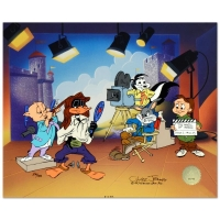 "Chuck Jones Signed ""Mark of Zero"" Sold Out Limited Edition 15x9 Animation Cel at PristineAuction.com"