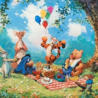 "James Coleman Signed ""Splendiferous Picnic"" Limited Edition 17x12 Lithograph at PristineAuction.com"