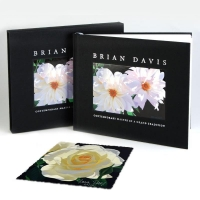 "Brian Davis Signed ""Contemporary Master in a Grand Tradition Deluxe"" LE 10x11 Coffee Table Book with LE ""French Lace with Bud"" Print at PristineAuction.com"