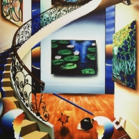 """Ferjo Signed """"Eye of a Master"""" Limited Edition 16x20 Giclee on Canvas at PristineAuction.com"""