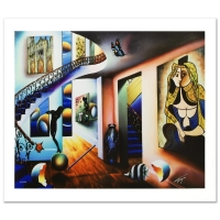 """Ferjo """"Passageway to the Masters"""" Signed Limited Edition 30x24 Giclee on Canvas at PristineAuction.com"""