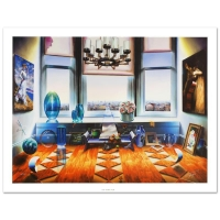 """Ferjo Signed """"City View"""" LE 40x30 Giclee on Canvas at PristineAuction.com"""