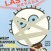 "Todd Goldman Signed ""What Happens in Vegas..."" 24x36 Lithograph Poster at PristineAuction.com"