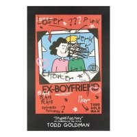 "Todd Goldman Signed ""Ex-Boyfriend"" 24x36 Litho Poster at PristineAuction.com"
