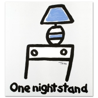 """Todd Goldman """"One Night Stand"""" Signed Limited Edition 21x22 Lithograph at PristineAuction.com"""