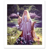 "Greg Hildebrandt Signed ""The Gift Of Galadriel"" Limited Edition 22x26 Giclee on Canvas at PristineAuction.com"