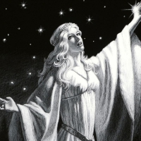 """Greg Hildebrandt Signed """"Ring Of Galadriel"""" Limited Edition 20x30 Giclee at PristineAuction.com"""