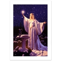 "Greg Hildebrandt Signed ""The Ring Of Galadriel"" Limited Edition 20x30 Giclee on Canvas at PristineAuction.com"