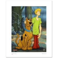 """Scooby & Shaggy Standing"" Limited Edition 16x20 Giclee by Hanna-Barbera"
