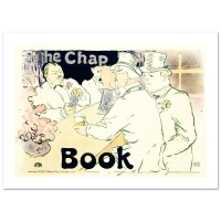 """""""The Chap Book"""" Hand Pulled 19x26 Lithograph by the RE Society at PristineAuction.com"""