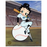 """Betty on Deck - Marlins"" Limited Edition 11x14 Sericel from King Features Syndicate, Inc. at PristineAuction.com"