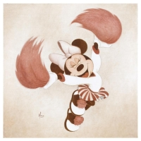 "Mike Kupka Signed ""Go Team!"" Limited Edition 14x14 Disney Fine Art Giclee on Canvas"