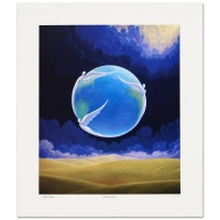 "Steven Lavaggi Signed ""Global Guardians"" Limited Edition 16x18 Lithograph"