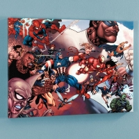 """What If? Civil War #1"" Limited Edition 18x24 Giclee on Canvas by Harvey Tolibao and Marvel Comics"