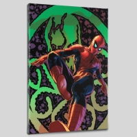 """""""Amazing Spider-Man #524"""" Limited Edition 18x27 Giclee on Canvas by Mike Deodato Jr. and Marvel Comics"""