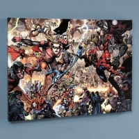"""Secret Invasion #7"" Limited Edition 18x24 Giclee on Canvas by Leinil Francis Yu and Marvel Comics"
