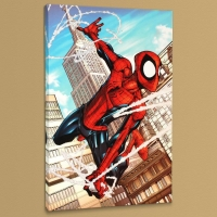 """Marvel Adventures: Spider-Man #50"" Limited Edition 18x27 Giclee on Canvas by Patrick Scherberger and Marvel Comics"