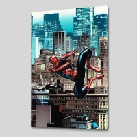 """Amazing Spider-Man #666"" LE 18x27 Giclee on Canvas by Stefano Caselli. and Marvel Comics"