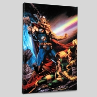 """Thor: First Thunder #5"" Limited Edition 18x27 Giclee on Canvas by Jay Anacleto and Marvel Comics"