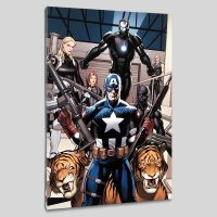 """""""Ultimate New Ultimates #3"""" LE 18x27 Giclee on Canvas by Frank Cho and Marvel Comics"""