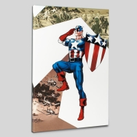 """""""Captain America Corps #2"""" Limited Edition 18x27 Giclee on Canvas by Phil Jimenez and Marvel Comics"""