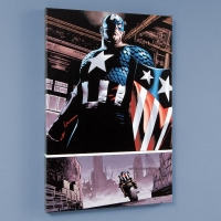 """The Marvels Project #5"" LE 18x27 Giclee on Canvas by Steve Epting and Marvel Comics"