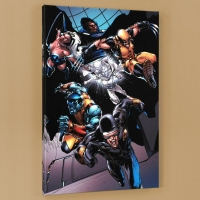 """X-Men vs. Agents of Atlas #1"" Limited Edition 18x27 Giclee on Canvas by Carlo Pagulayan and Marvel Comics"