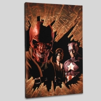 """New Avengers #12"" LE 18x27 Giclee on Canvas by Mike Deodato Jr. & Marvel Comics"
