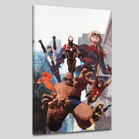 """I Am An Avenger #4"" Limited Edition 18x27 Giclee on Canvas by Daniel Acuna and Marvel Comics"