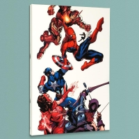 """Marvel Knights Spider-Man #2"" Limited Edition 18x27 Giclee on Canvas by Terry Dodson and Marvel Comics"
