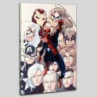 "Humberto Ramos ""The Amazing Spider-Man #648"" Limited Edition 18x27 Giclee on Canvas"