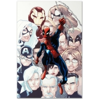 """Humberto Ramos """"The Amazing Spider-Man #648"""" Limited Edition 18x27 Giclee on Canvas at PristineAuction.com"""