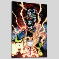 """Thor First Thunder #1"" Limited Edition 18x27 Giclee on Canvas by Tan Eng Huat and Marvel Comics"