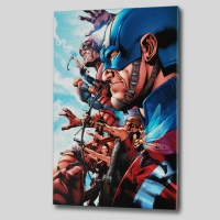 "Bruce Timm ""Avengers #1"" Limited Edition 18x27 Giclee on Canvas at PristineAuction.com"