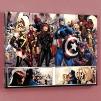 """Fear Itself #7"" Limited Edition 18x24 Giclee on Canvas by Stuart Immonen and Marvel Comics"