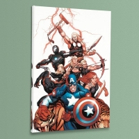 """Ultimate New Ultimates #5"" Limited Edition 18x27 Giclee on Canvas by Frank Cho and Marvel Comics"