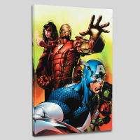 """Avengers #501"" LE 18x27 Giclee on Canvas by David Finch and Marvel Comics"