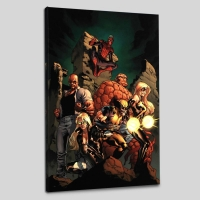 """New Avengers #7"" LE 18x27 Giclee on Canvas by Tim Bradstreet and Marvel Comics"
