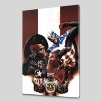 "Steve Epting ""Captain America #42"" Limited Edition 18x27 Giclee on Canvas"