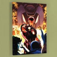 "Lee Weeks & Marvel Comics ""Iron Age #1"" LE 18x27 Giclee on Canvas"