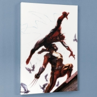 """Secret Invasion #7"" Limited Edition 18x27 Giclee on Canvas by Gabriel Dell'Otto and Marvel Comics"